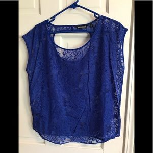 Express lace tee
